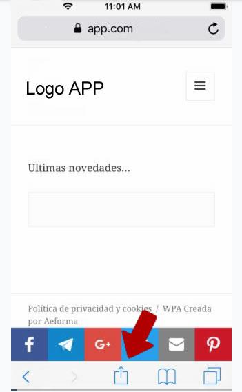 App ios instalacion cerrajeros paso2