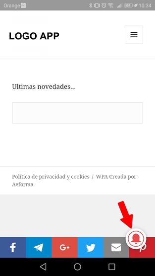 app android ios notificacion cerrajeros