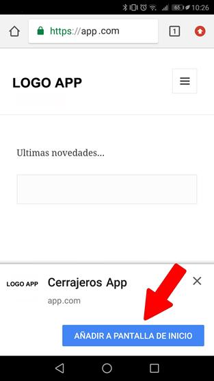 instalacion app cerrajeros