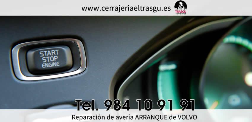 Reparación de avería arranque volvo Oviedo Gijon El Trasgu