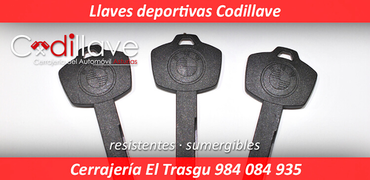 Llave deportiva impermeable