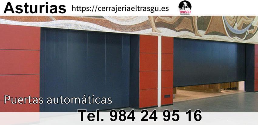 puertas automaticas el trasgu gijon oviedo asturias