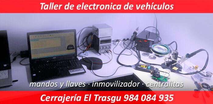 taller electronica vehiculos en asturias