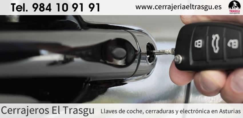 LLAVES de coche, cerraduras y electrónica en Gijón