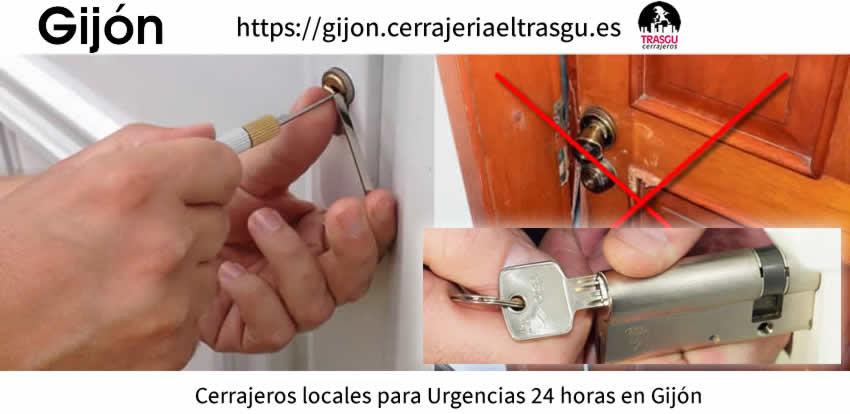 cerrajeros gijon urgentes aperturas cerraduras el trasgu local