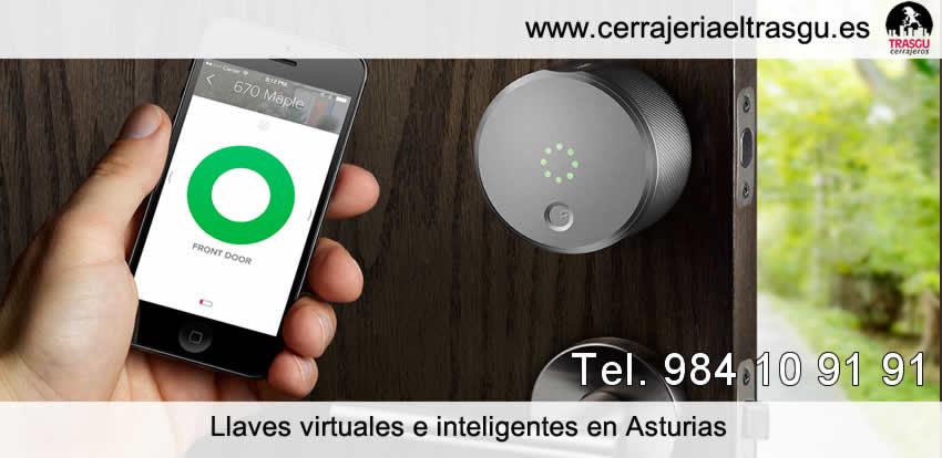 llaves virtuales inteligentes cerrajeros asturias