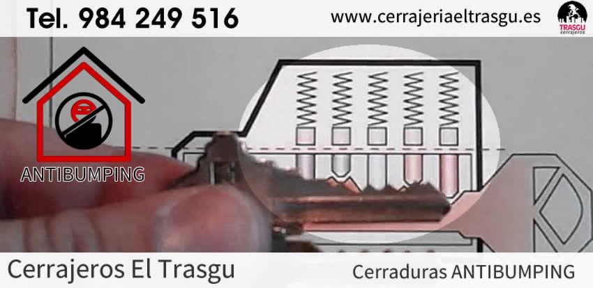 Cerrajeros antibumping todo cerraduras antibumping profesional Asturias