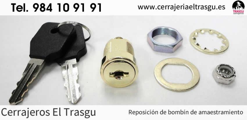 AMAESTRAMIENTOS reposición de bombín en Asturias