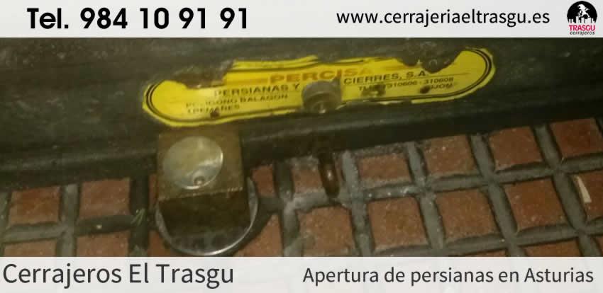 APERTURA de persianas con cerrajeros en Asturias