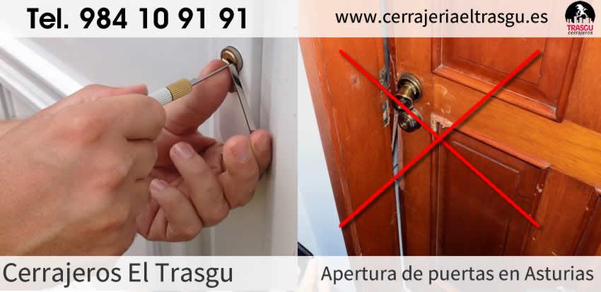 APERTURA de puertas con cerrajeros en Asturias