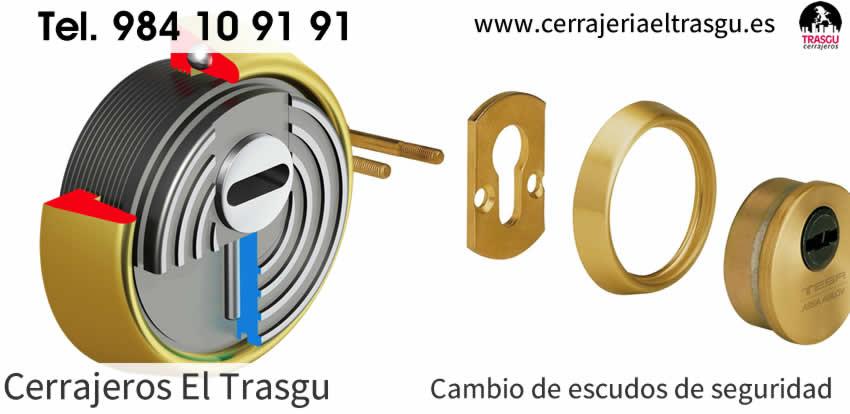 cambio escudos seguridad asturias el trasgu