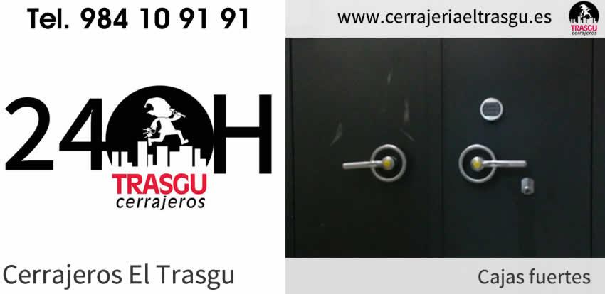 Cerrajeros 24 horas para CAJAS FUERTES en Asturias