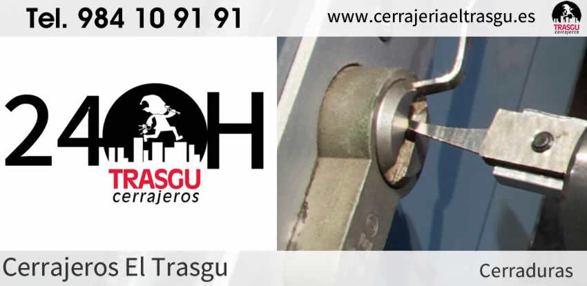 Cerrajeros 24 horas para CERRADURAS en Gijón