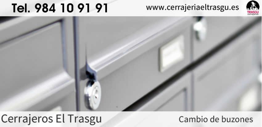 CAMBIAR cerraduras de buzones y cajas en Gijón