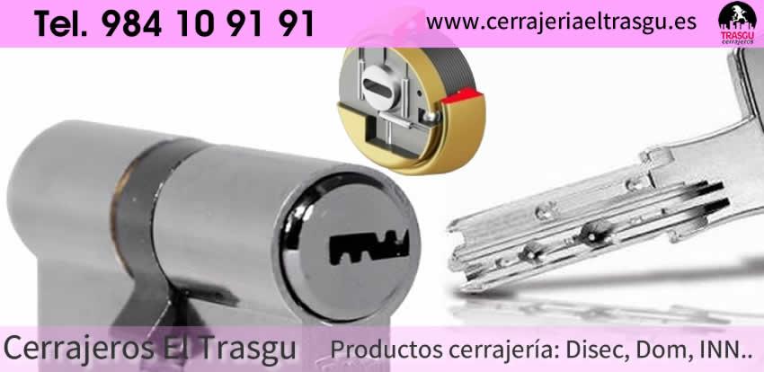 Artículos de cerrajería marca INN en Gijón