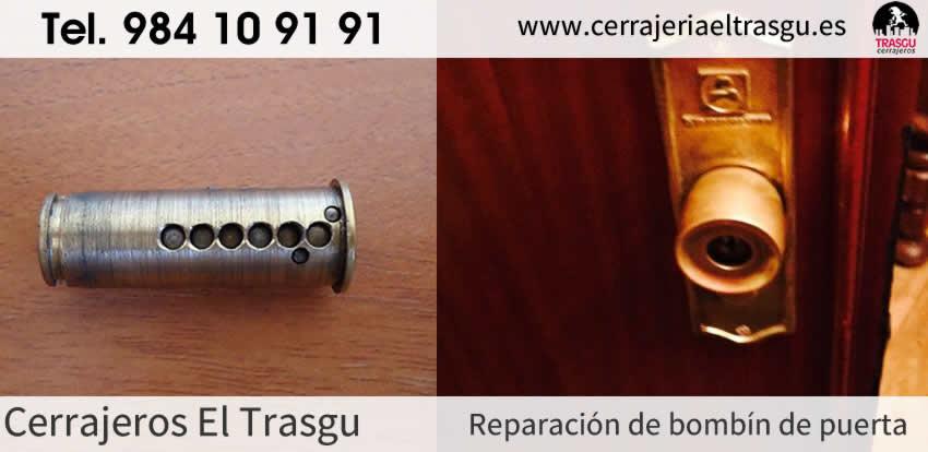 Reparación de bombin de PUERTAS en Asturias