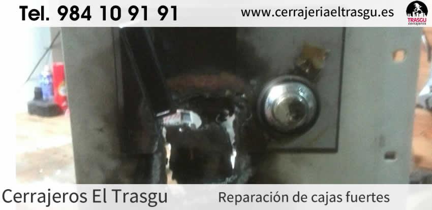 Reparación de CAJAS FUERTES en Asturias