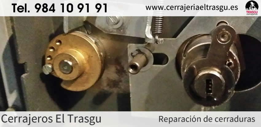 Reparación de CERRADURAS en Asturias