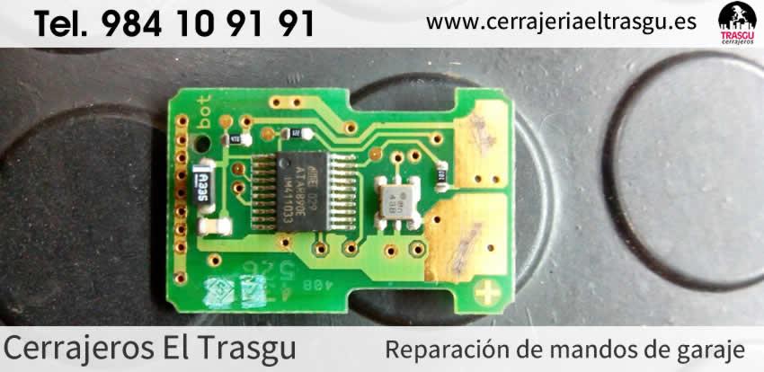 Reparación MANDOS DE GARAJE en Gijón