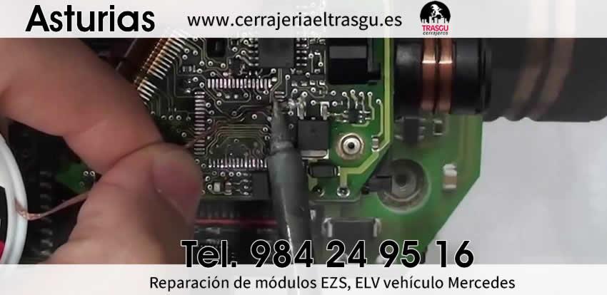 reparacion modulos ezs elv ecu mercedes asturias el trasgu