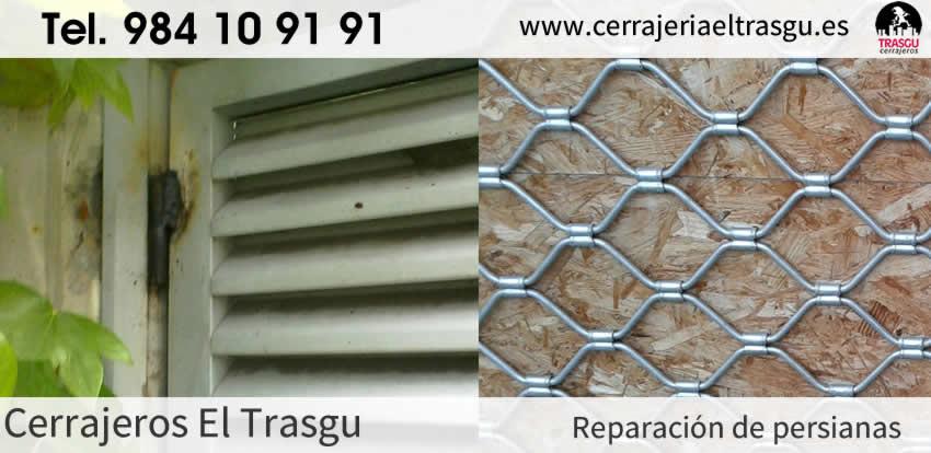 Reparación de PERSIANAS en Asturias 24h