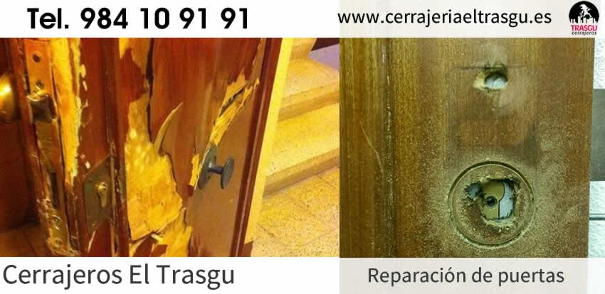 Reparación de PUERTAS en Asturias